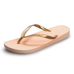 Women's PVC Wedge Heel Sandals Flip-Flops shoes