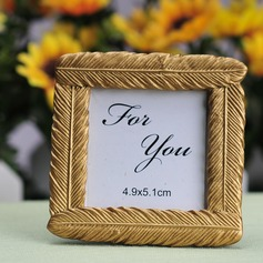 Gold Feather design Resin Photo Frames