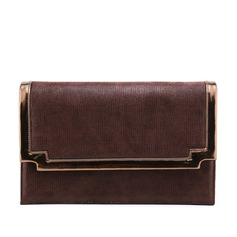 Elegant PU/Cloth Clutches