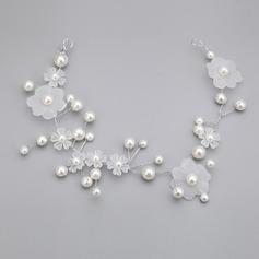 Amazing Imitation Pearls/Acrylic Headbands
