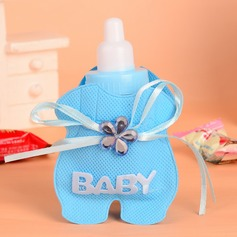 """Baby"" Bottle shaped Favor Bags With Rhinestone (Set of 12)"