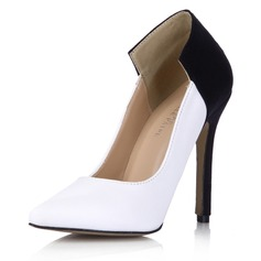 Suède Similicuir Talon stiletto Escarpins Bout fermé chaussures