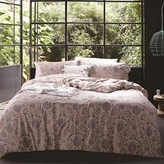 Country Retro Cotton Comforters (4pcs :1 Duvet Cover 1 Flat Sheet 2 Shams)