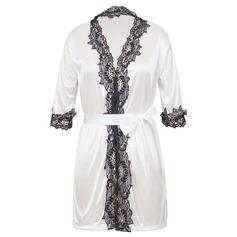 Lace/Viscose Fiber Feminine Sleepwear