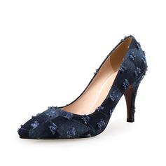 Women's Suede Kitten Heel Pumps shoes