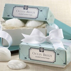 Ocean Breeze Seashell Scented Soap Favor (Set of 2) (051008921)