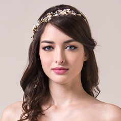 Beautiful Rhinestones/Crystal With Pearl Ladies' Hair Jewelry