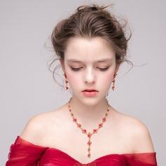 Shining Alloy Rhinestones Women's Jewelry Sets