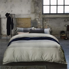 Modern/Contemporary Casual Cotton Comforters (4pcs :1 Duvet Cover 1 Flat Sheet 2 Shams)