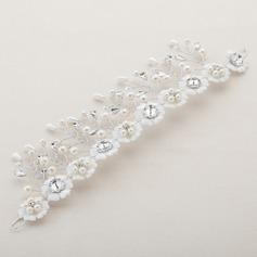 Fashion Crystal/Rhinestone/Imitation Pearls/Lace Flowers & Feathers/Headbands