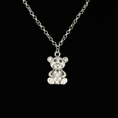 Lovely Alloy With Rhinestone Ladies' Fashion Necklace