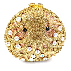 Unique Crystal/ Rhinestone/Alloy Clutches/Luxury Clutches