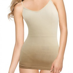 Cotton Blends Non-Adjustable Straps Shapewear