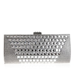 Elegant Polyester With Acrylic Jewels/Rhinestone Clutches