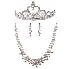 Moda Aleación con Rhinestone Señoras' Sistemas de la joyería