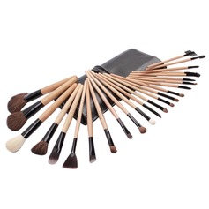 Top Wood Professional Makeup Brush ( 24 Pcs) (046025399)