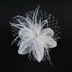 Fashion Feather/Lace/Net Fascinators