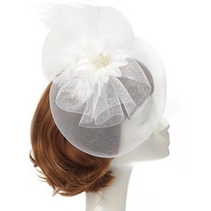 Charming Net Yarn/Feather Fascinators