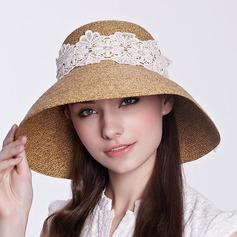 Ladies' Beautiful Rattan Straw Straw Hat