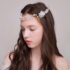 Beautiful Crystal/Imitation Pearls/Tulle Headbands
