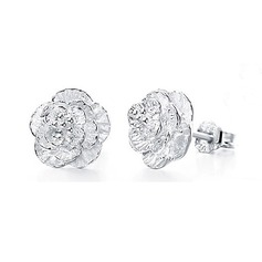 Beautiful Silver Girls' Fashion Earrings (137089649)