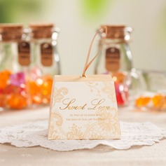 """Sweet Love"" Cuboid Favor Boxes With Ribbons (Set of 12)"