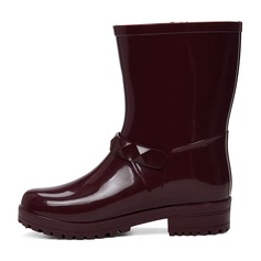 Women's PVC Boots Mid-Calf Boots shoes