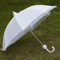 Elegant Lace Bryllup Paraplyer