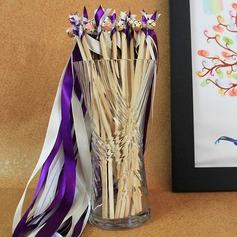 5/8-Inch Multicolor Satin Ribbon (Set of 10)