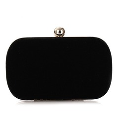 Gorgeous Velvet With Metal Clutches