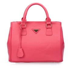 Charming PU With Metal Top Handle Bags
