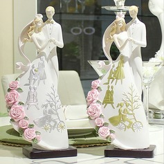 "Figurine ""Sweet Hug"" Resin Wedding Cake Topper"