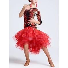 Women's Dancewear Nylon Latin Dance Dresses