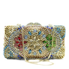 Charming Crystal/ Rhinestone/Rhinestone/Alloy Clutches ()
