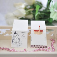 Personalized Cupcake Design Hard Card Paper Matchboxes
