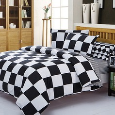 Modern/Contemporary Cotton Comforters (4pcs :1 Duvet Cover 1 Flat Sheet 2 Shams) (203084278)