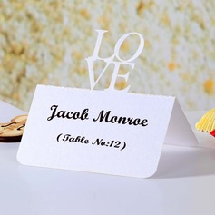 Love Design Pearl Paper Place Cards