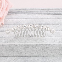 Pretty Crystal Combs & Barrettes