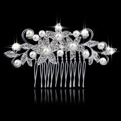 Elegant Alloy/Imitation Pearls Combs & Barrettes