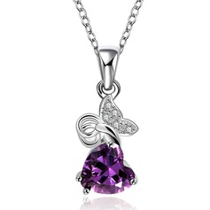 Exquisite Copper/Zircon Ladies' Necklaces
