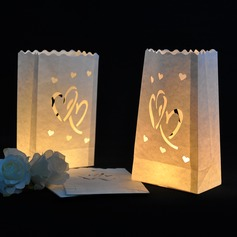 Heart Design Paper Luminary