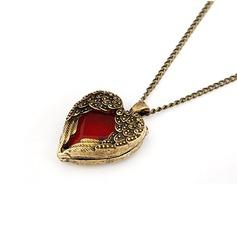 Heart Shaped Alloy Women's Fashion Necklace