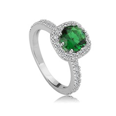 Fancy Copper/Zircon/Platinum Plated Ladies' Rings