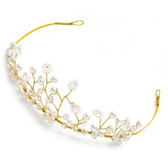 Simple Alliage/Perles d'imitation Tiaras