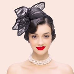 Ladies' Vintage Polyester With Tulle Fascinators