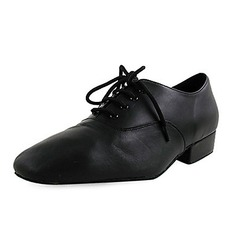 Real Leather Flats Latin Modern Dance Shoes (053012953)