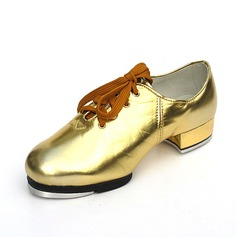 Kids' Unisex Leatherette Flats Tap Dance Shoes