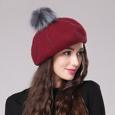 Ladies' Eye-catching Spring/Autumn/Winter Wool With Beret Hat