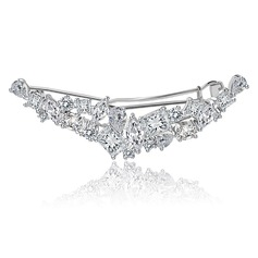 Luxurious Copper/Zircon/Platinum Plated Women's/Ladies' Hair Jewelry