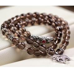 Klassisch Kristall Frauen Armbänder